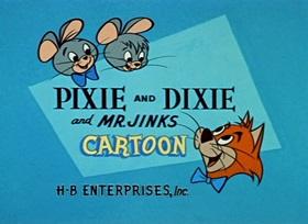 Screenshots from the 1959 Hanna-Barbera cartoon Cat-Nap Cat