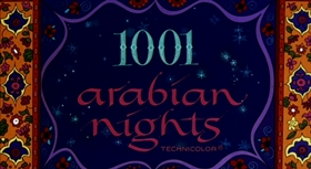 Screenshots from the 1959 UPA cartoon 1001 Arabian Nights