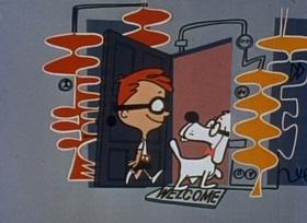 Screenshots from the 1959 Jay Ward Productions cartoon Lord Nelson
