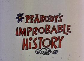 Screenshots from the 1959 Jay Ward Productions cartoon Wyatt Earp