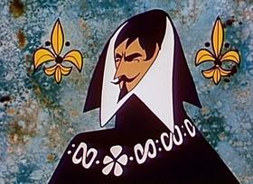 Screenshots from the 1960 New World Productions cartoon Robin Hood