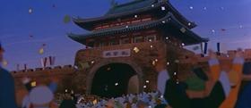 Screenshots from the 1960 Toei Animation cartoon Alakazam The Great