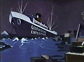 Screenshots from the 1960 Paramount / Famous Studios cartoon Northern Mites