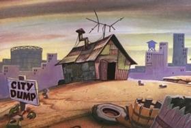 Screenshots from the 1960 Walter Lantz cartoon Witty Kitty