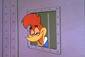 Screenshots from the 1960 Walter Lantz cartoon Pistol-Packin