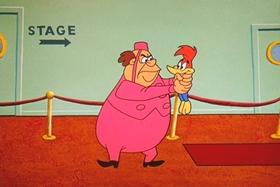 Screenshots from the 1960 Walter Lantz cartoon Ballyhooey