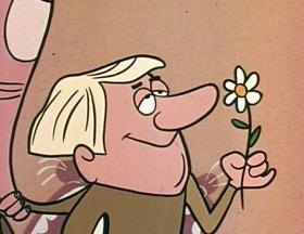 Screenshots from the 1960 Jay Ward Productions cartoon Tom Thumb