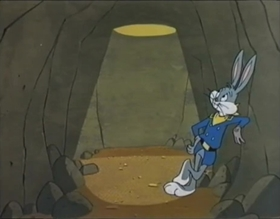 Screenshots from the 1960 Warner Brothers cartoon Horse Hare