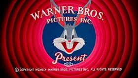Screenshots from the 1960 Warner Bros. cartoon Person to Bunny