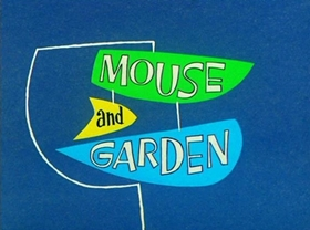 Screenshots from the 1960 Warner Brothers cartoon Mouse and Garden