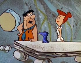 Screenshots from the 1960 Hanna-Barbera cartoon The Golf Champion
