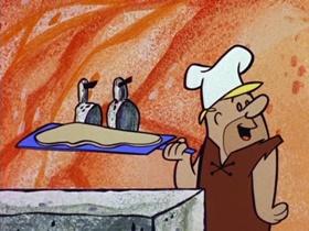 Screenshots from the 1960 Hanna-Barbera cartoon The Drive-In