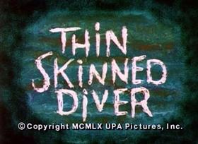 Screenshots from the 1960 UPA cartoon Thin Skinned Divers