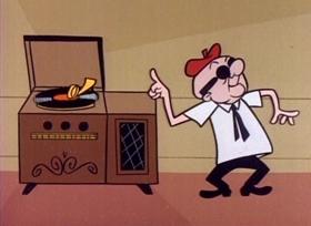 Screenshots from the 1960 UPA cartoon Record Breakers