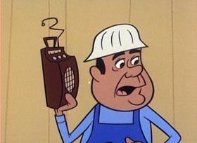 Screenshots from the 1960 UPA cartoon Magoo