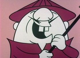 Screenshots from the 1960 UPA cartoon Marco Magoo