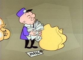 Screenshots from the 1960 UPA cartoon Chug Chug Magoo