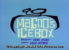 Screenshots from the 1960 UPA cartoon Magoo