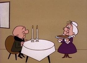 Screenshots from the 1960 UPA cartoon Mother