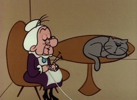 Screenshots from the 1960 UPA cartoon Mother