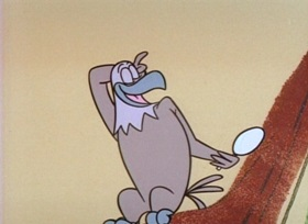 Screenshots from the 1960 UPA cartoon Eagle Eye Magoo