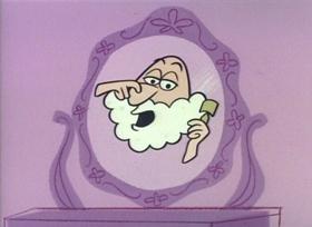 Screenshots from the 1960 UPA cartoon Prince Charming Magoo