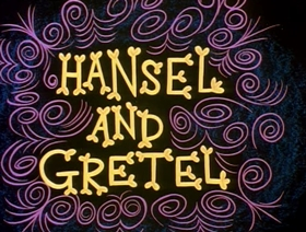 Screenshots from the 1960 Jay Ward Productions cartoon Hansel and Gretel