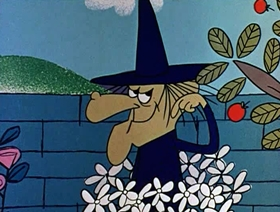 Screenshots from the 1961 Jay Ward Productions cartoon John Ogre