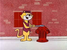 Screenshots from the 1961 Hanna-Barbera cartoon A Visit from Mother