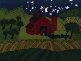 Screenshots from the 1961 Bagdasarian Productions cartoon Swing Low, Sweet Chariot