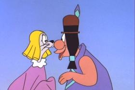 Screenshots from the 1961 Walter Lantz cartoon Doc