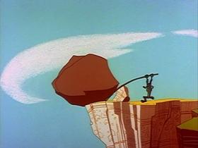 Screenshots from the 1961 Warner Brothers cartoon Zip