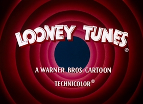 Screenshots from the 1961 Warner Brothers cartoon Hoppy Daze