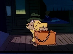 Screenshots from the 1961 Warner Brothers cartoon D