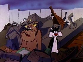 Screenshots from the 1961 Warner Brothers cartoon D