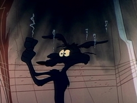 Screenshots from the 1961 Warner Brothers cartoon Lickety Splat
