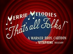 Screenshots from the 1961 Warner Bros. cartoon Compressed Hare