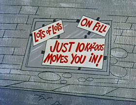Screenshots from the 1962 Jay Ward Productions cartoon Jack B. Nimble