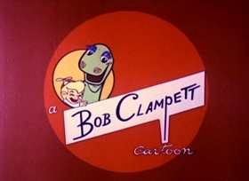 Screenshots from the 1962 Bob Clampett Productions cartoon The Capture of Tearalong The Dotted Lion