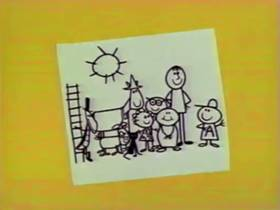 Screenshots from the 1962 Bagdasarian Productions cartoon Polly Wolly Doodle