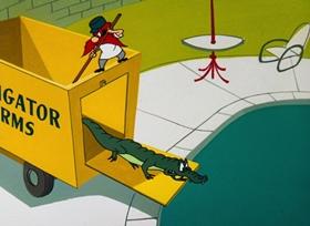 Screenshots from the 1962 Warner Brothers cartoon Honey