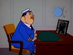 Screenshots from the 1962 Warner Brothers cartoon Good Noose