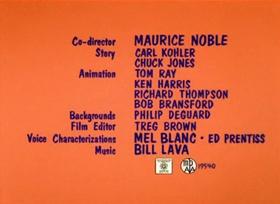 Screenshots from the 1962 Warner Brothers cartoon Martian Through Georgia