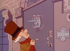Screenshots from the 1962 UPA cartoon Mister Magoo