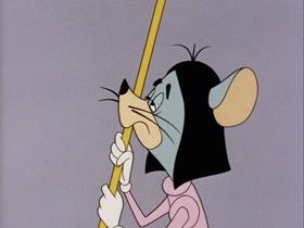 Screenshots from the 1963 Walter Lantz cartoon The Secret Weapon