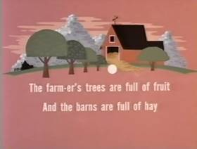 Screenshots from the 1963 Paramount / Famous Studios cartoon Hobo