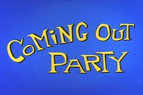 Screenshots from the 1963 Walter Lantz cartoon Coming-Out Party