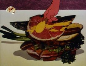 Screenshots from the 1963 Walter Lantz cartoon Calling Dr. Woodpecker