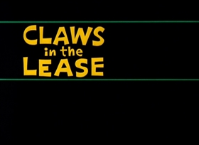 Screenshots from the 1963 Warner Brothers cartoon Claws in the Lease