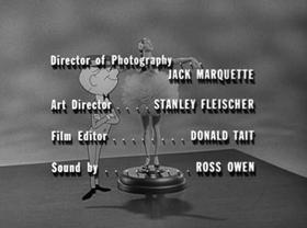 Screenshots from the 1963 Warner Brothers cartoon Philbert (Three